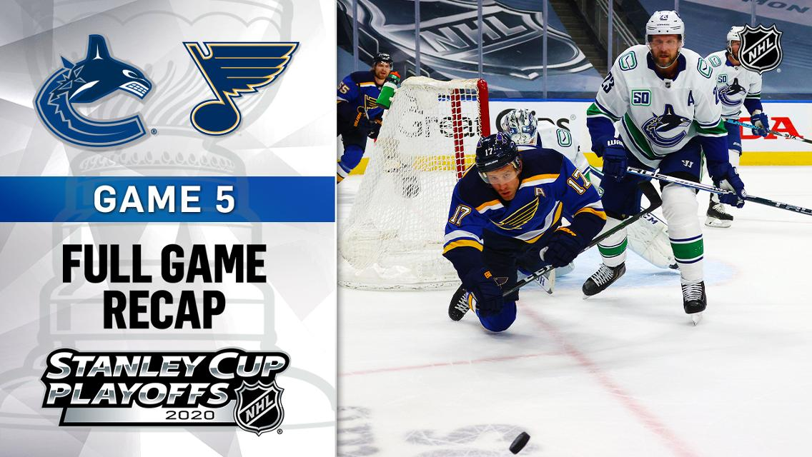 Markstrom S Timely Saves Energizing Canucks Entering Game 6 Against Blues