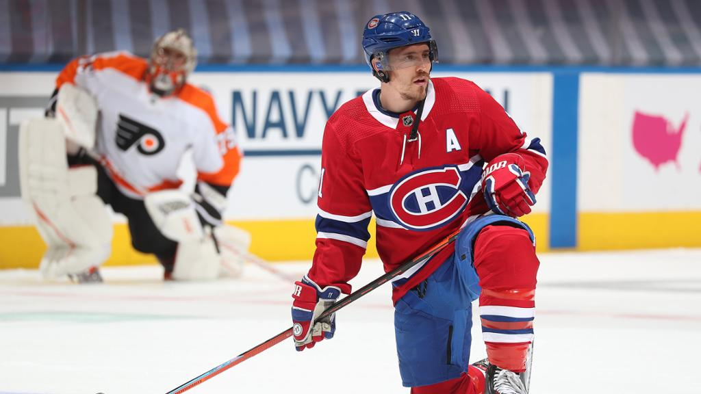 Gallagher had hip injury for Canadiens before breaking jaw against ...