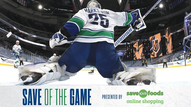 Save Of The Game Markstrom Toe Nhl Com