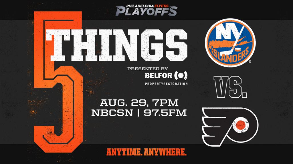 5 Things Flyers Vs Islanders Game 3