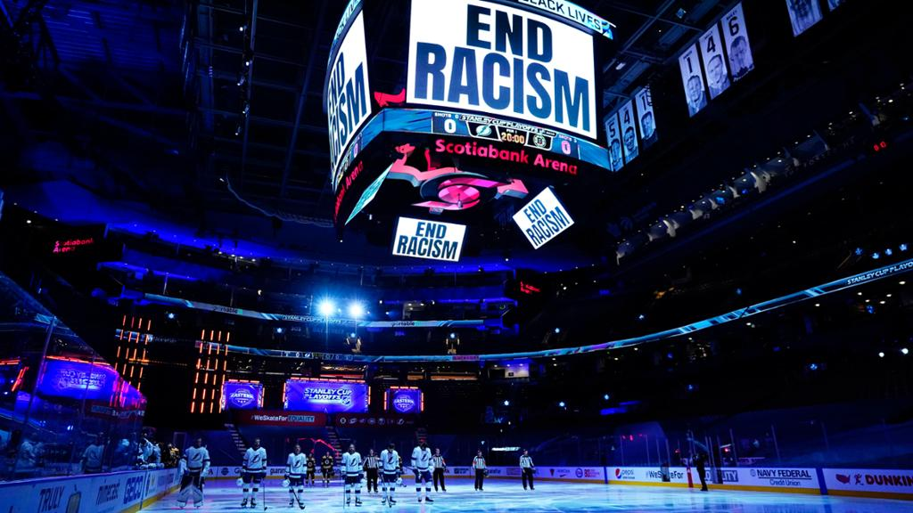NHL announces initiatives to combat racism, accelerate inclusion efforts