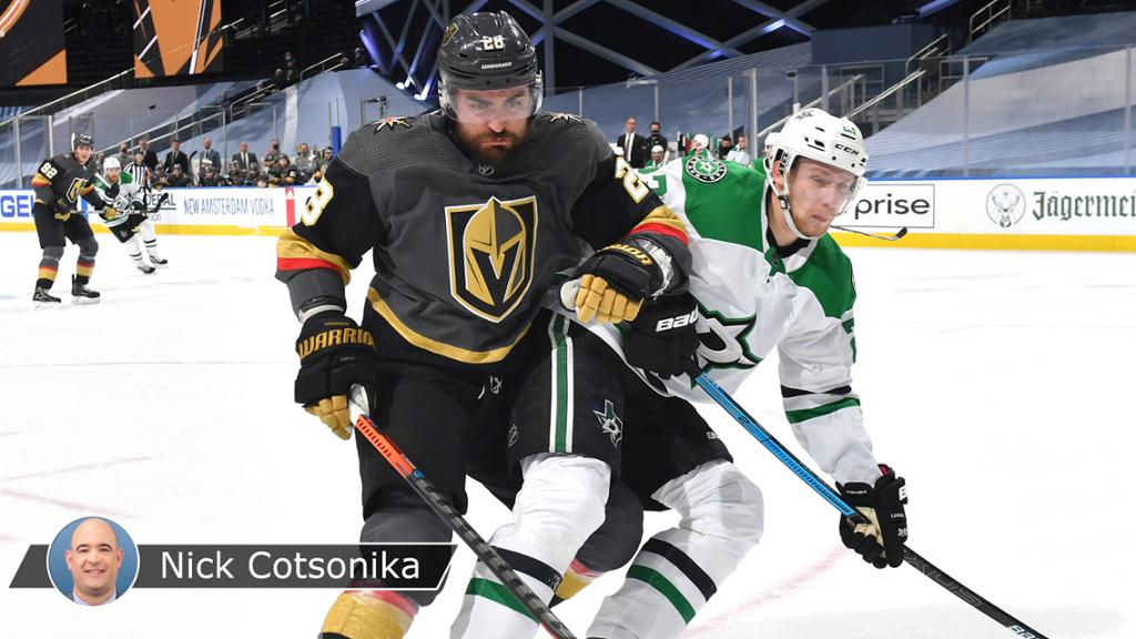 Golden Knights seek energy boost after shutout loss to Stars in Game 1 thumbnail