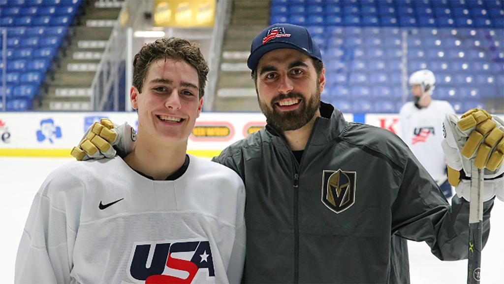 Tuch looks faster for Golden Knights during postseason, brother says