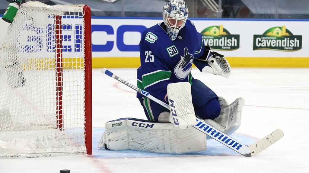 Markstrom Canucks Negotiating New Contract Prior To Free Agency