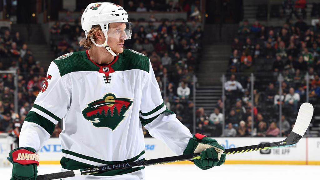 Wild sign defenceman Jonas Brodin to seven-year, $42M extension
