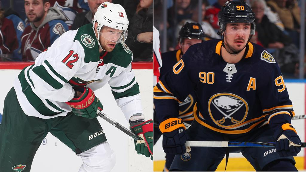Wild trade Staal for Johansson