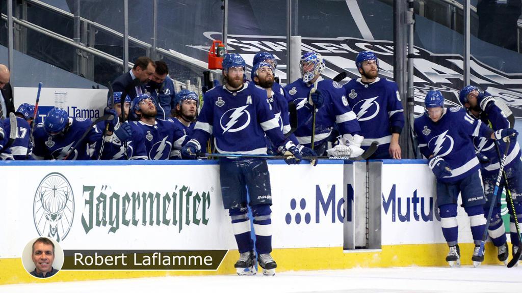 Dallas ouvre son compteur en corrigeant Tampa Bay — NHL finale