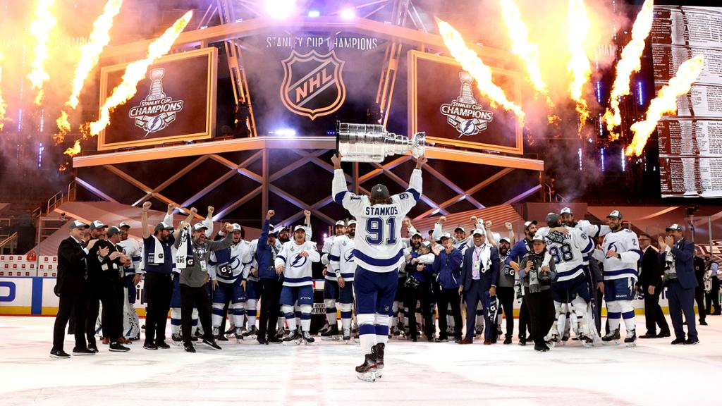 How Stanley Cup Champion Lightning Were Built