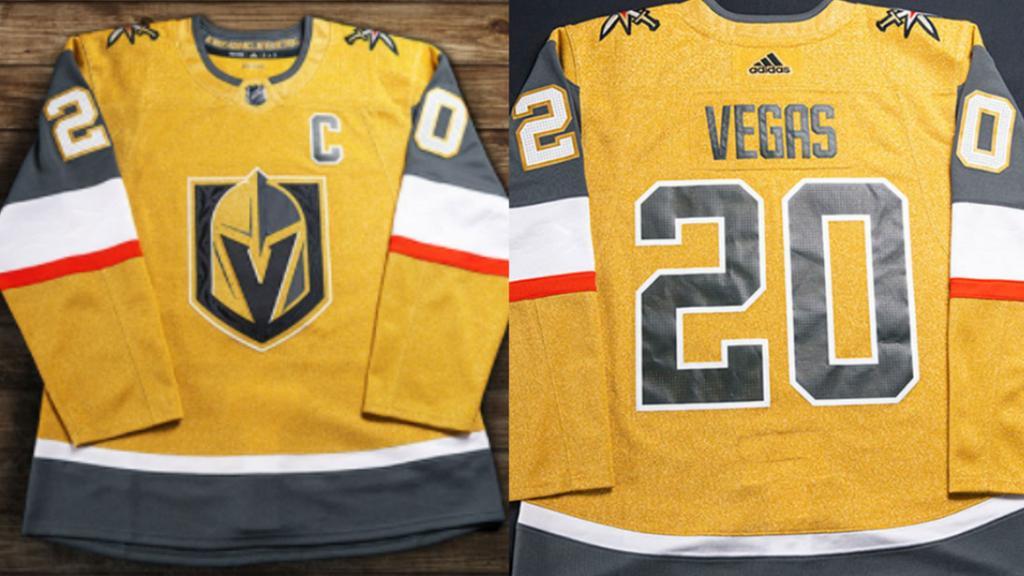 Golden Knights unveil sparkling all-metallic third jersey