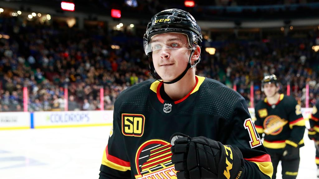 Virtanen signs two-year, $5.1 million contract with Canucks