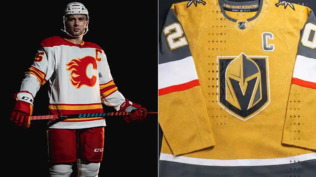New and alternate NHL jerseys for the 2020-21 season