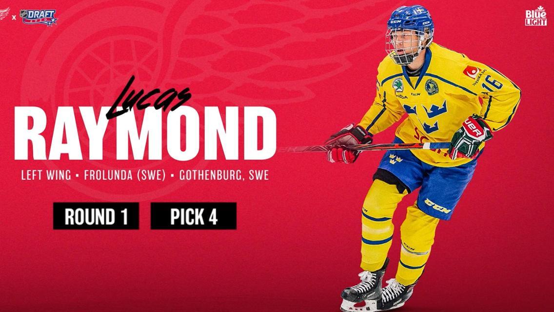 2020 NHL Draft | Lucas Raymond | NHL.com