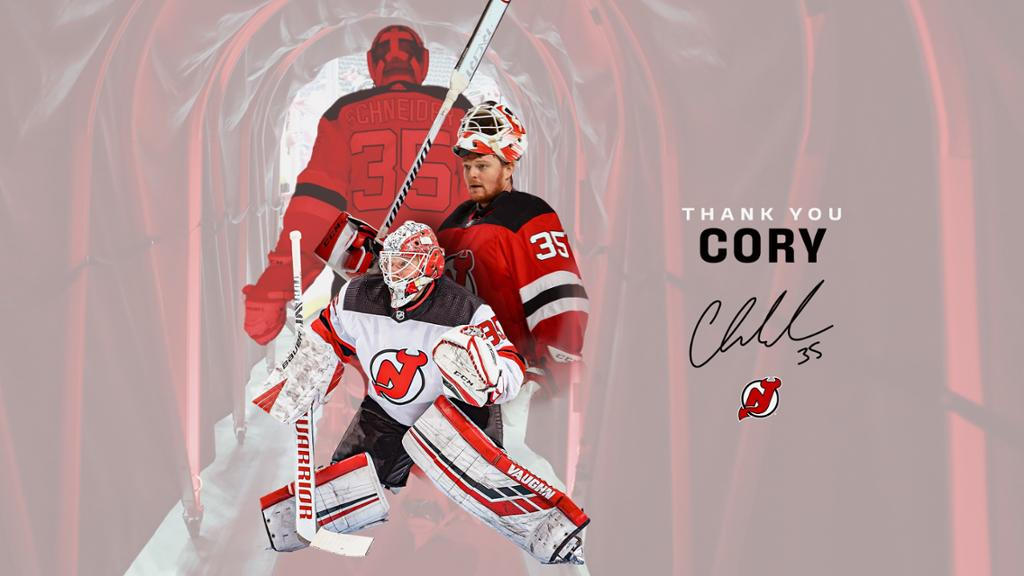 BLOG: Devils Buy Out Cory Schneider