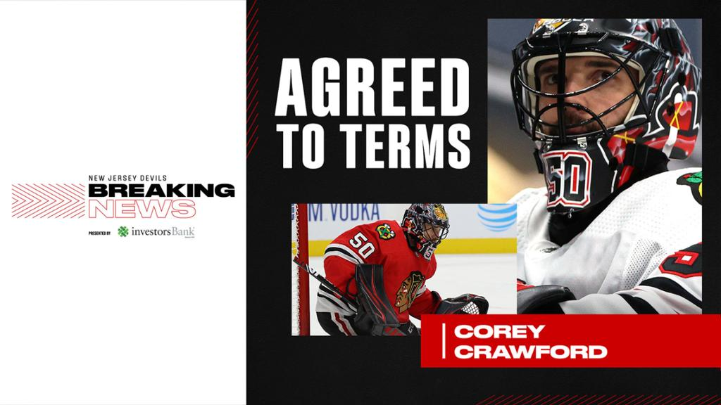 Free Agency Devils Agree To Terms With Crawford