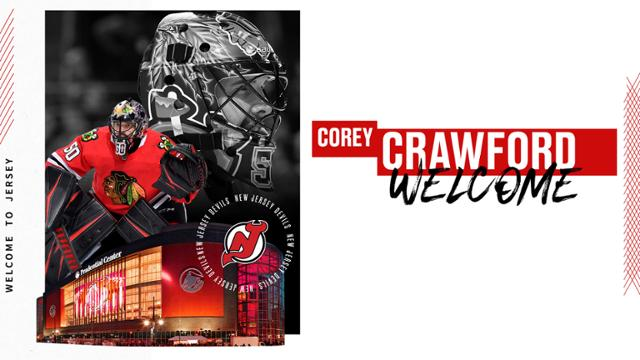 Feature Devils Secure Proven Goaltender In Crawford
