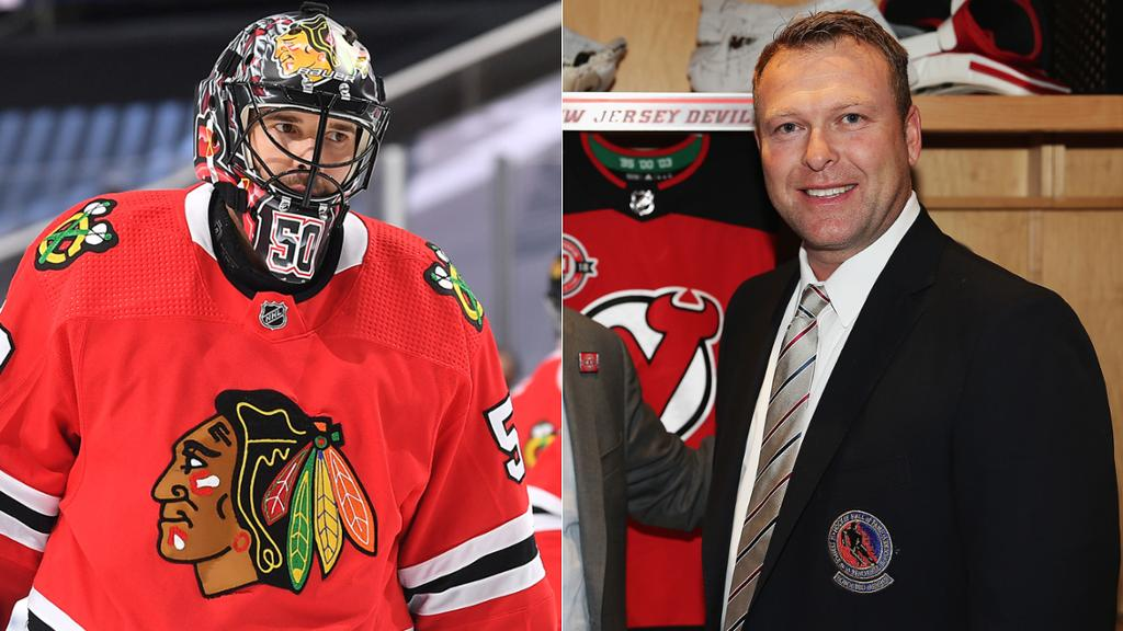 Crawford Brings Stability To Goalie Position For Devils Brodeur Says