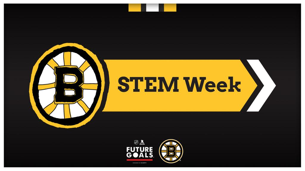 Boston Bruins Announce Bruins STEM Week, To Take Place October 19-23 | NHL.com