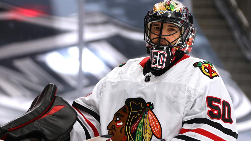 Feature Corey Crawford Sees Bright Future Ahead For Devils