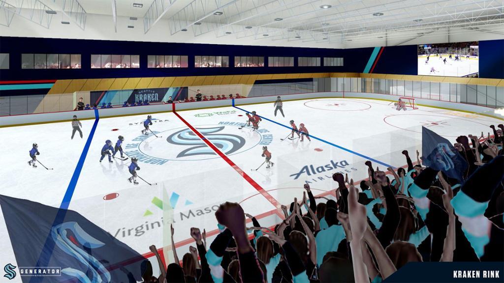 seattle kraken arena update seattle arena on track for