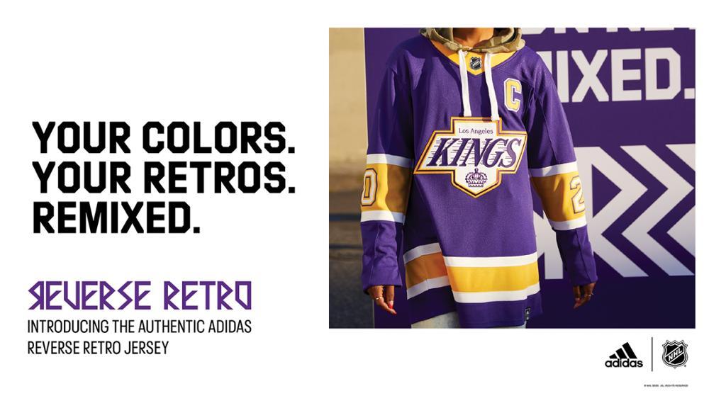 LA Kings Unveil Forum Blue and Gold 'Reverse Retro' Jersey