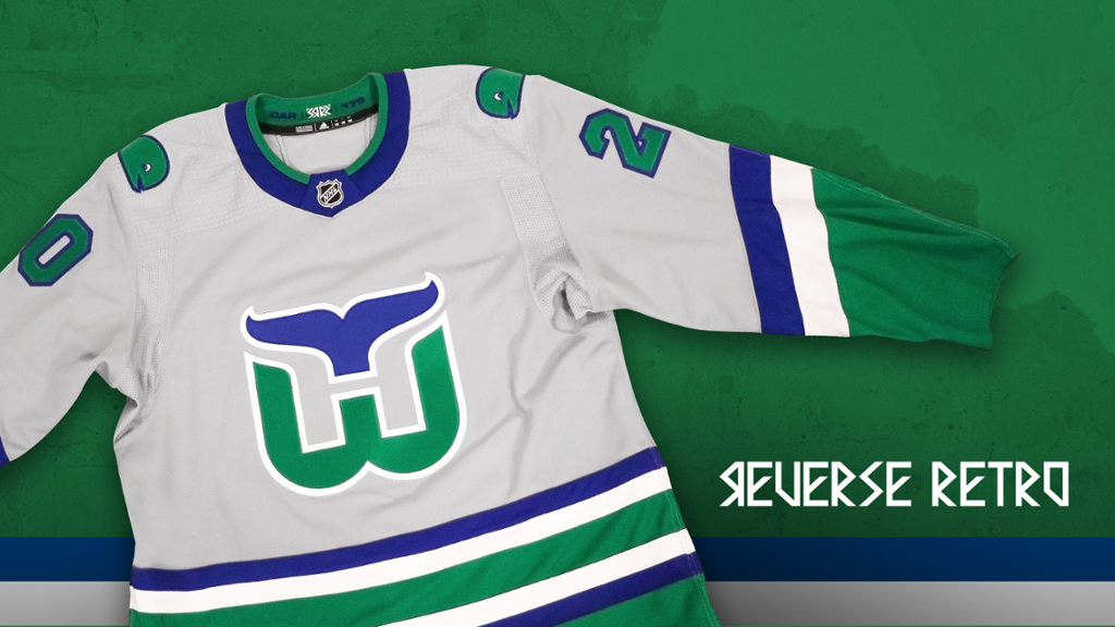 Canes, Adidas Unveil Whalers Reverse Retro Jersey