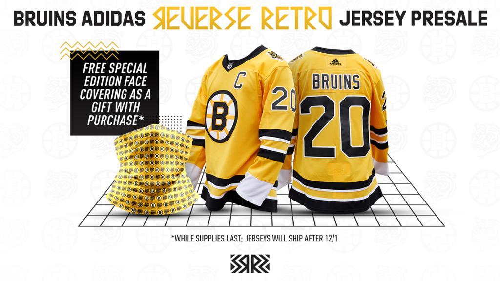 Boston Bruins Introduce Adidas Reverse Retro Authentic Jersey ...