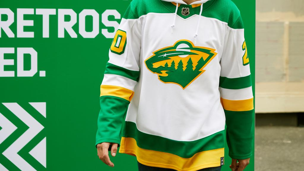 Wild Unveils Reverse Retro Jersey For 2020 21 Season