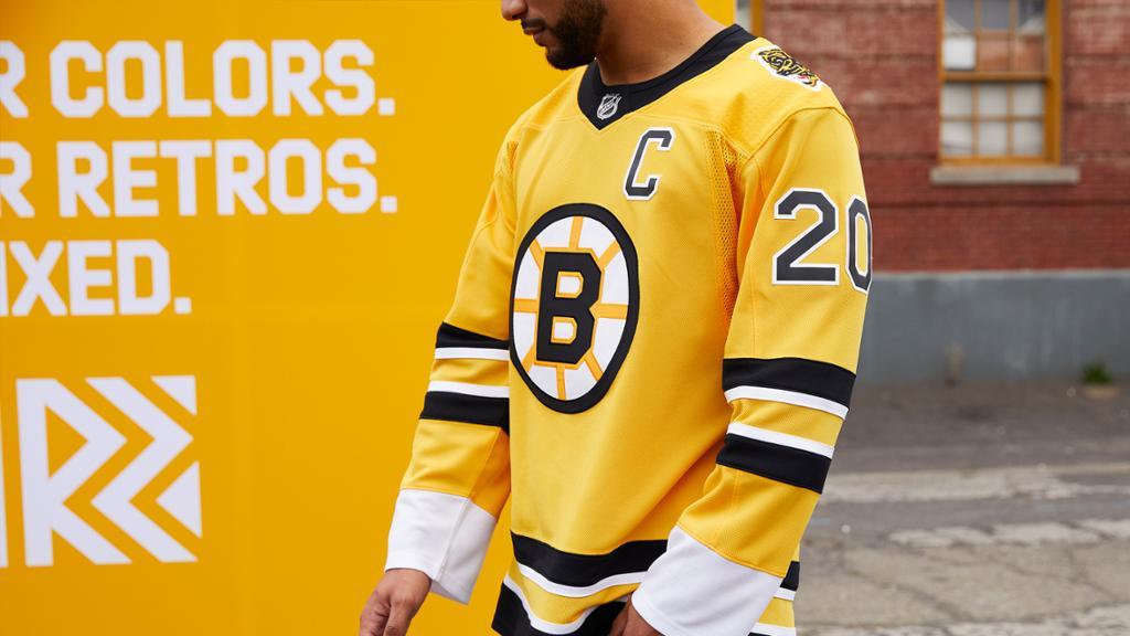 Photos: Bruins' adidas Reverse Retro Revealed