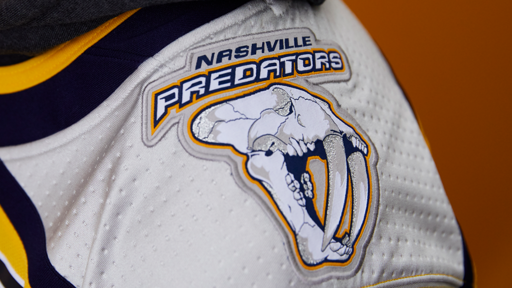 Preds 'Reverse Retro' Alternate Jersey Unveiled by adidas and the NHL®