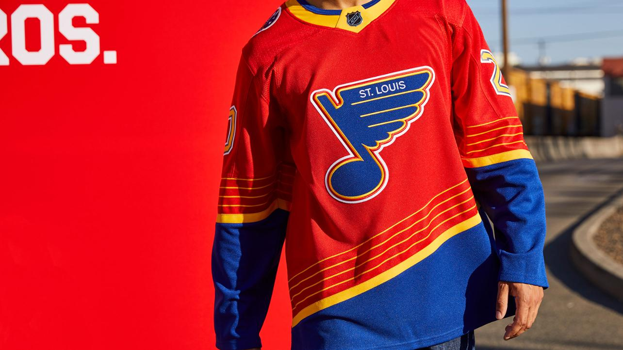 Blues unveil Reverse Retro jersey from adidas