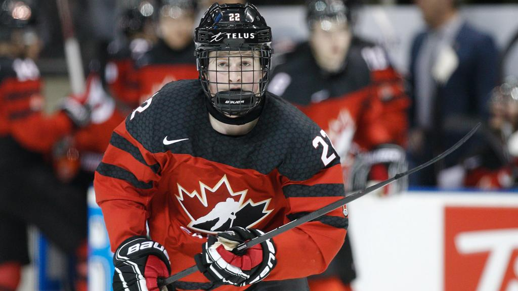Lafreniere remains option for Hockey Canada at WJC