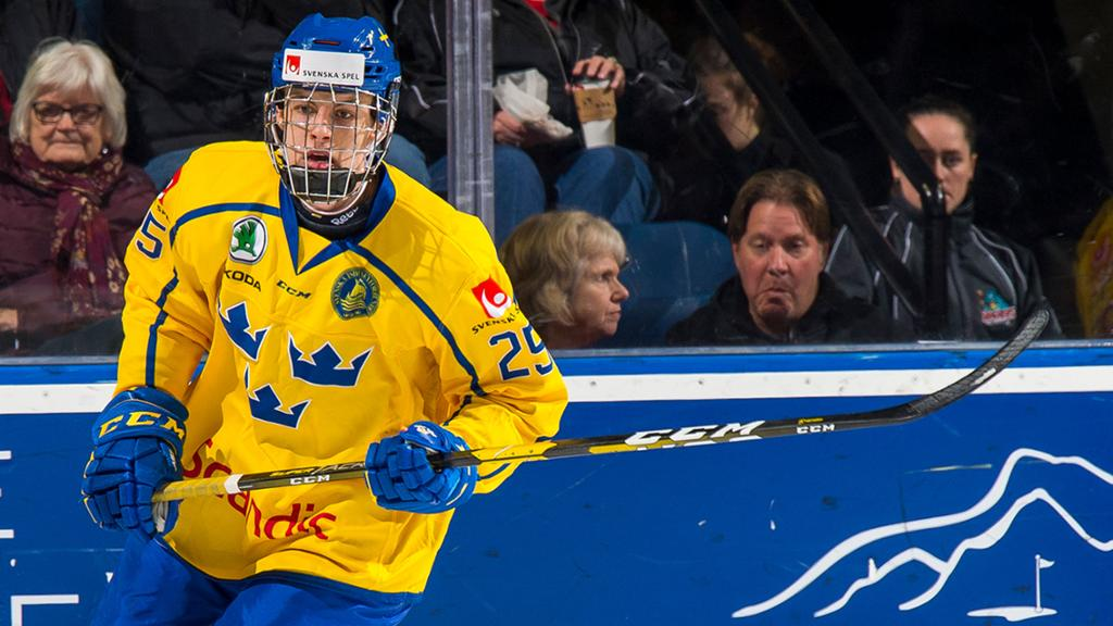 Oilers Prospect Broberg Named Captain Of Sweden For 2021 Wjc