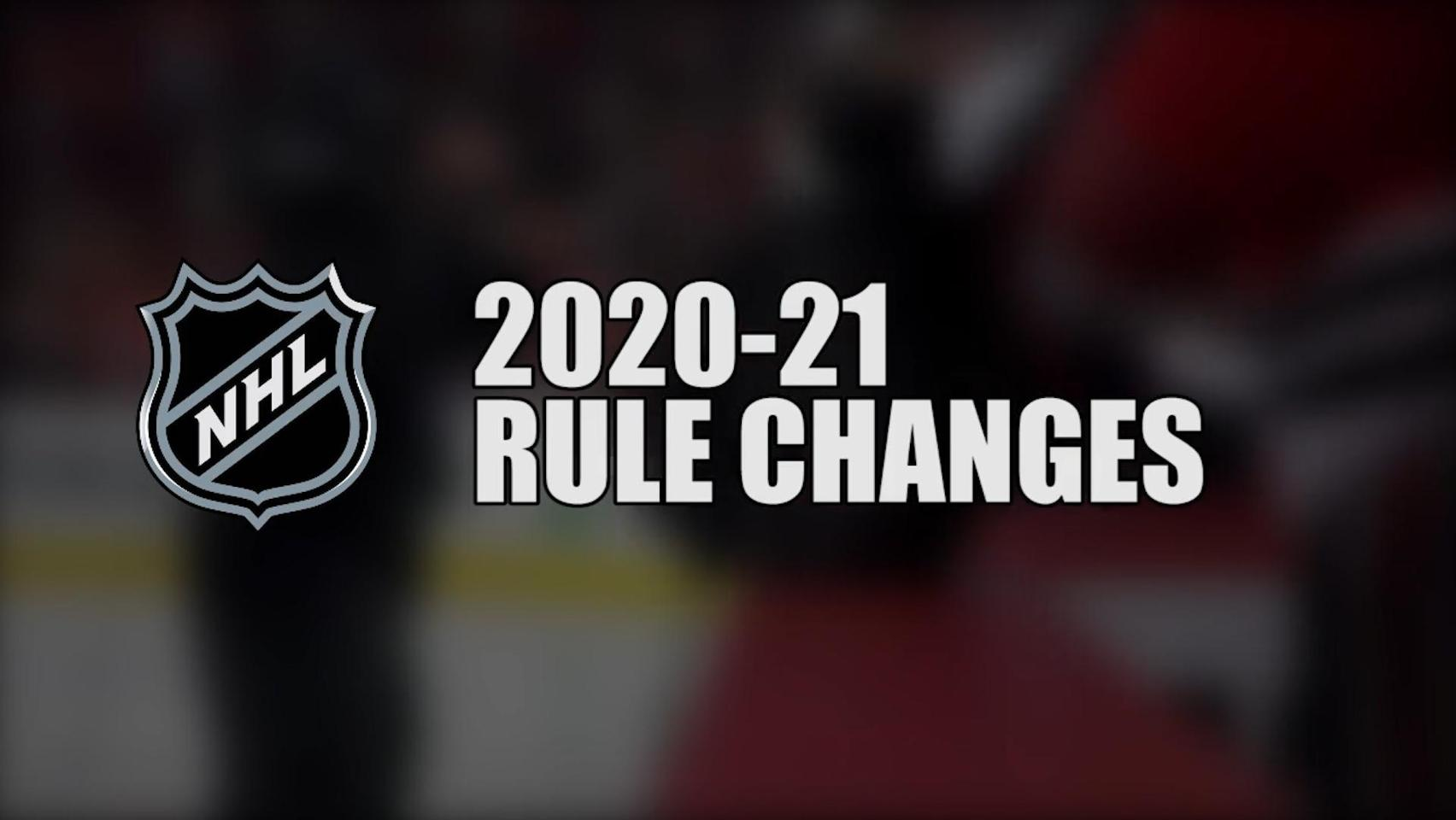 2020 21 Nhl Rule Changes Nhl Com