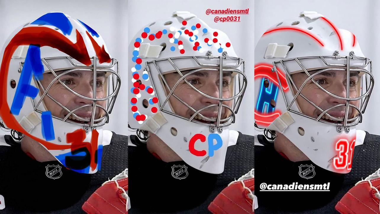 The Internet Designs Masks For Carey Price