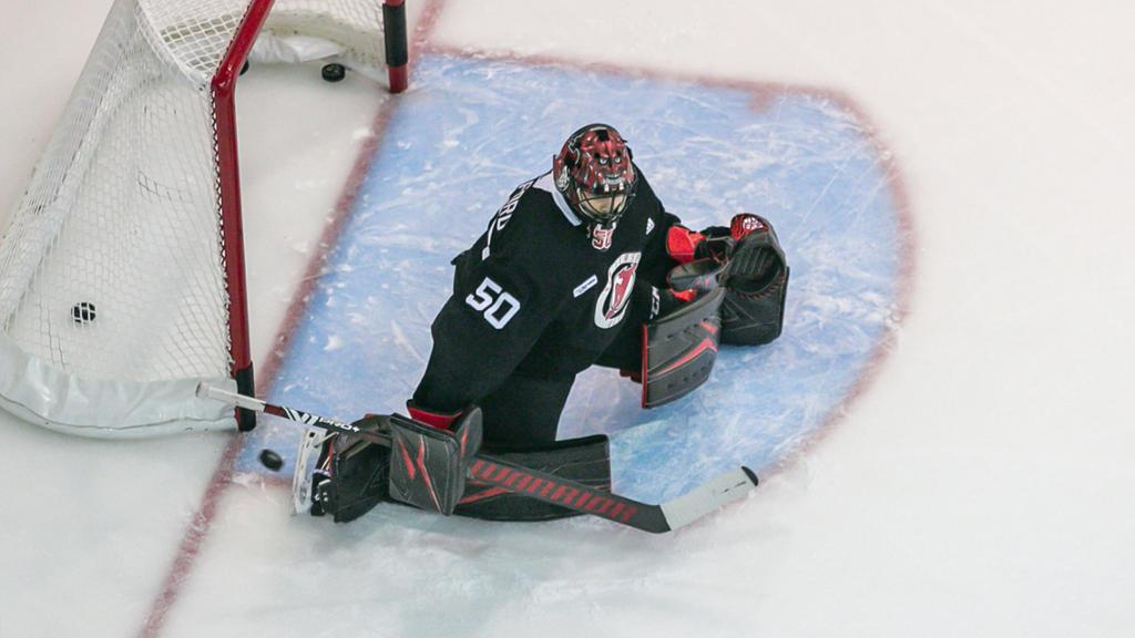 Devils' options at goaltender with Corey Crawford retired