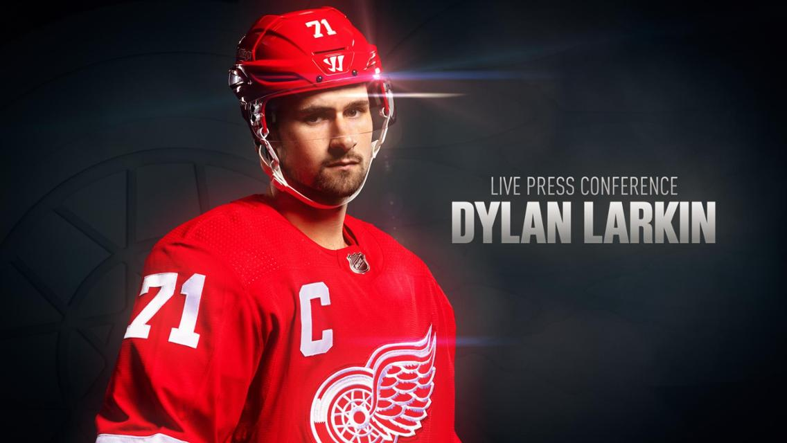 Dylan Larkin | DRW Captain Media | NHL.com
