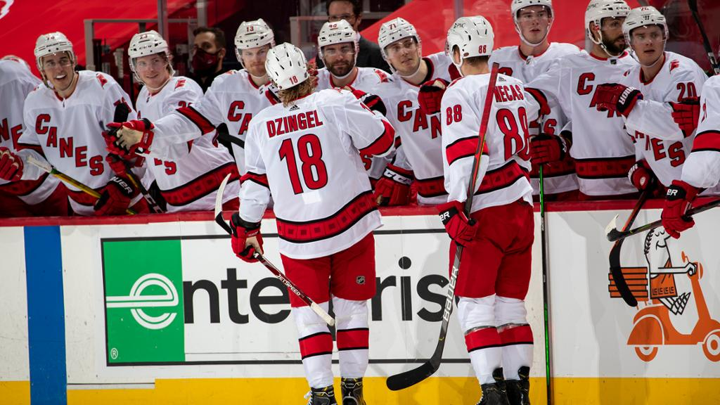 Hurricanes vs. Predators postponed due to COVID-19