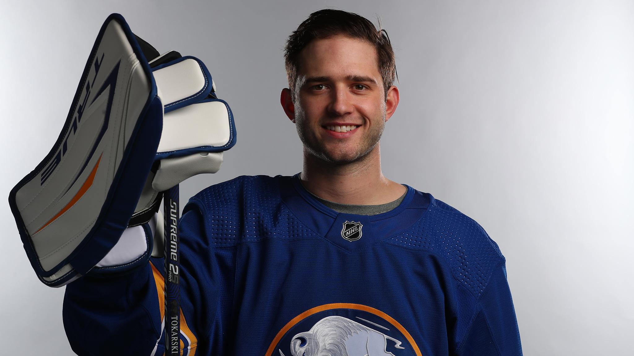 Sabres add Dustin Tokarski to taxi squad