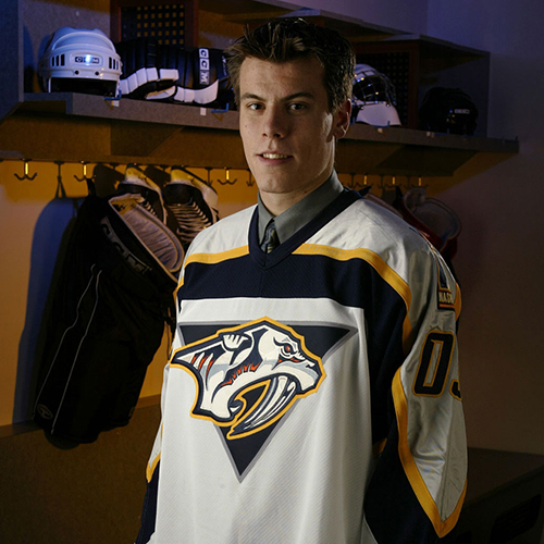 Shea Weber's NHL Draft portrait