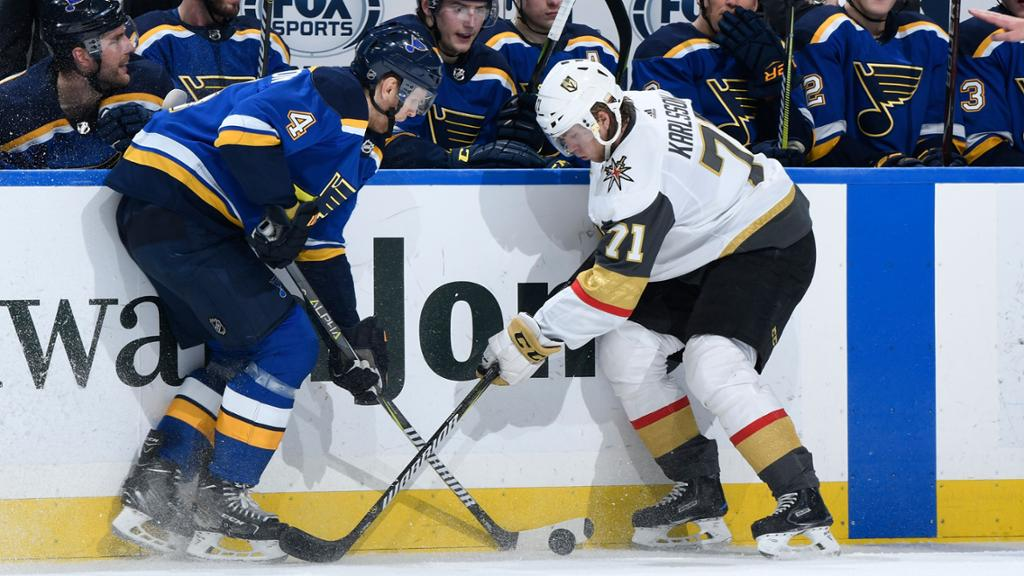 NHL Postpones Blues-Golden Knights Game Due To COVID Protocols