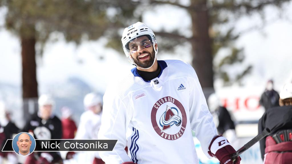 Bellemare takes NHL.com behind scenes at Lake Tahoe with Avalanche
