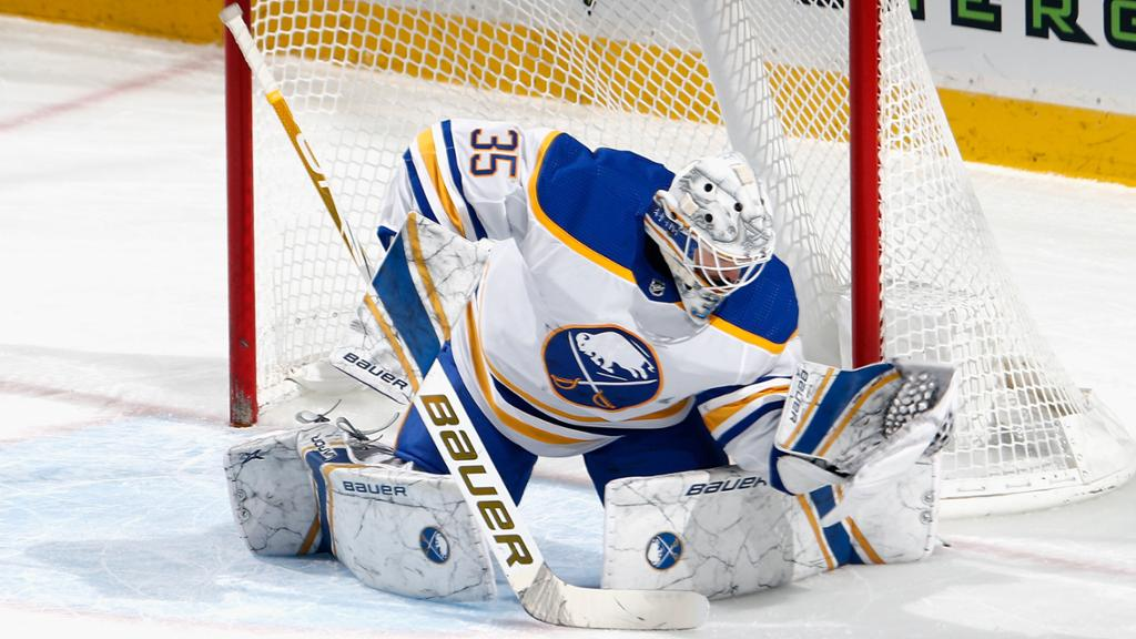 Ullmark out at least one month for Sabres with lower-body injury