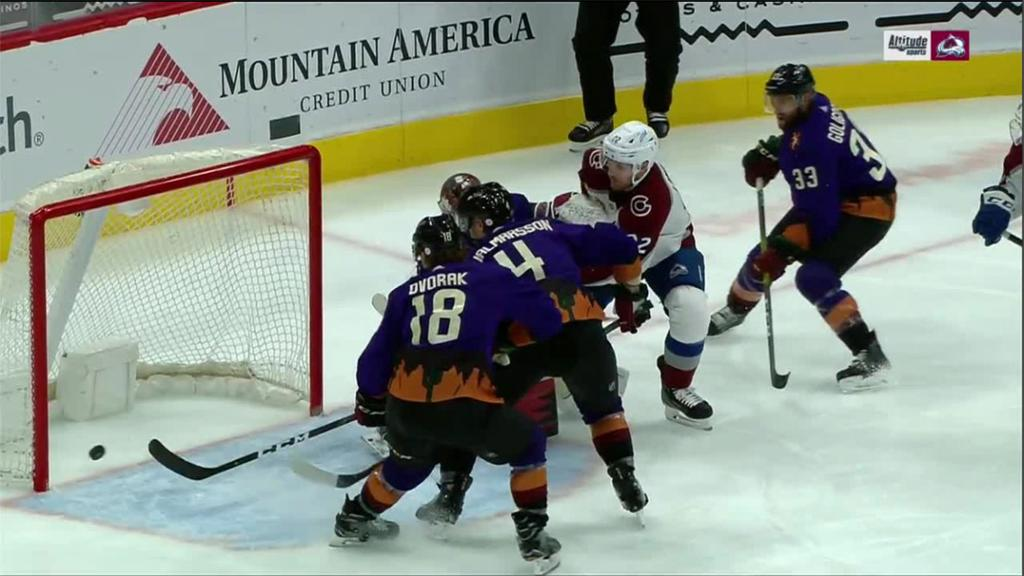 Six score for Avalanche in win against Coyotes