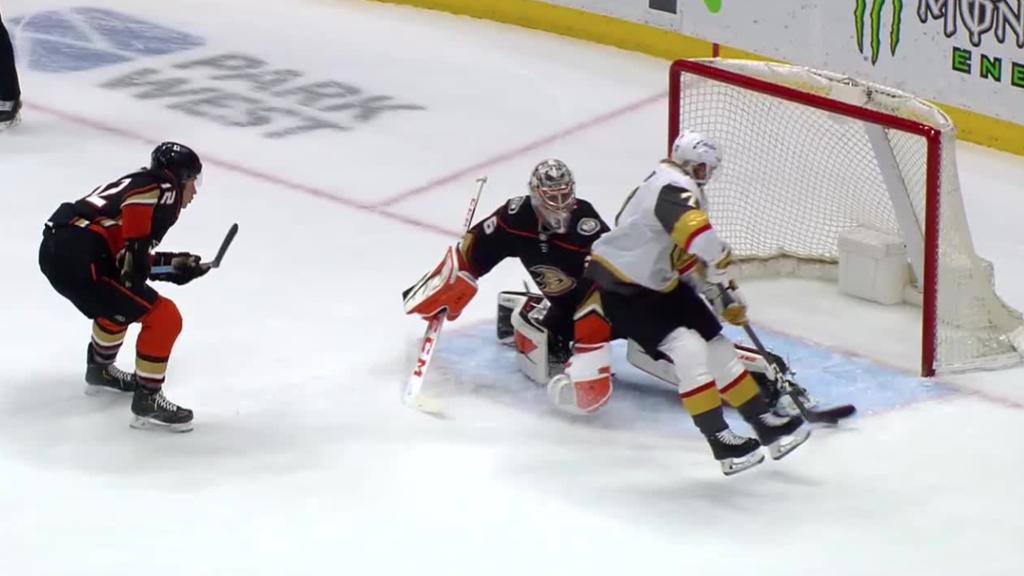 Karlsson gives Golden Knights OT win against Ducks