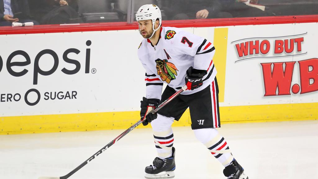 Seabrook thanks Blackhawks fans with ads in Chicago newspapers