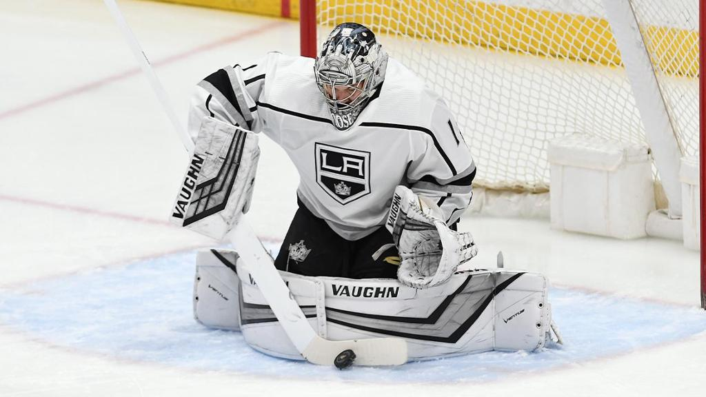 Kings goalie Grosenick wins first start in six years in victory vs. Ducks