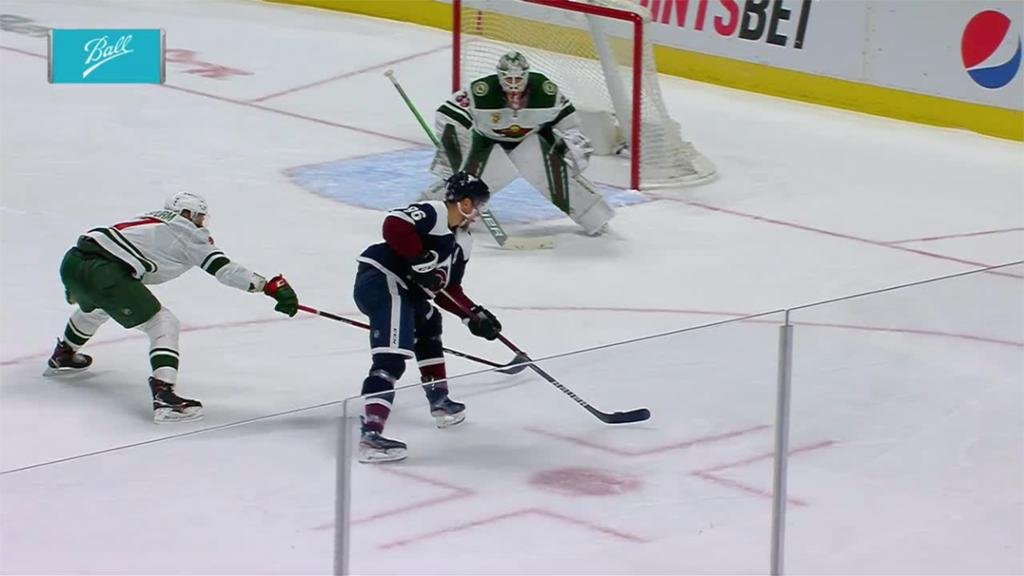 Rantanen scores four points, Avalanche take 55 shots in win against Wild