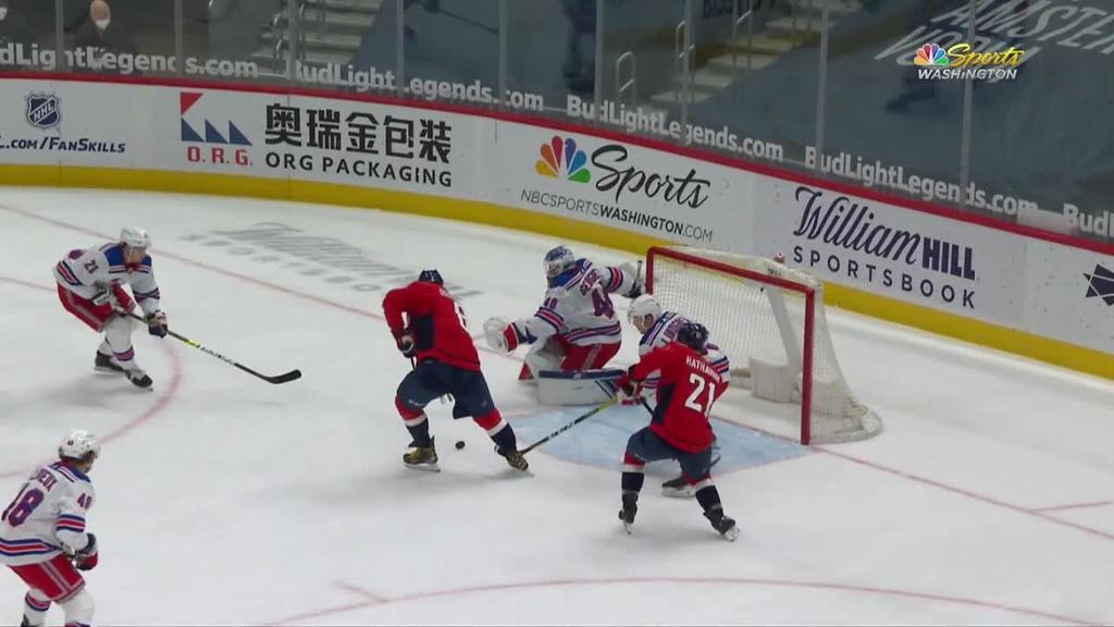 Ovechkin scores twice, extends goal streak to five, Capitals top Rangers