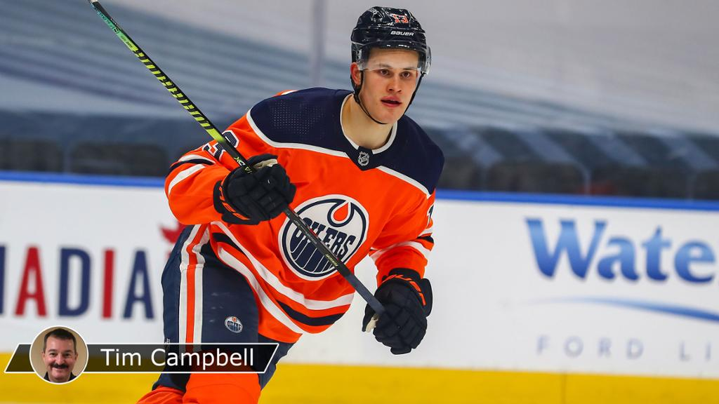 Puljujarvi enjoying second chance with Oilers