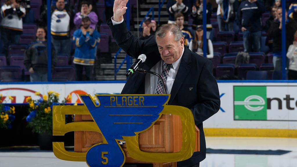 NHL players mourn passing of Blues legend Plager on social media